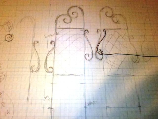 トレリスフェンス製作