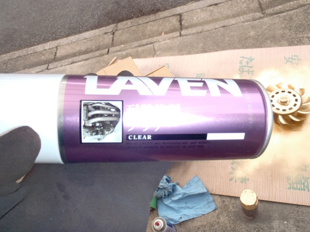 ファン塗装
