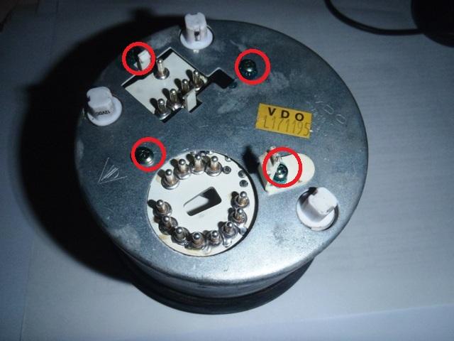 VDOメータ 不動修理