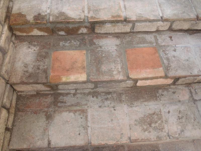 テラコッタタイルの修理