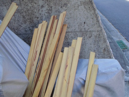 カーポート屋根作り