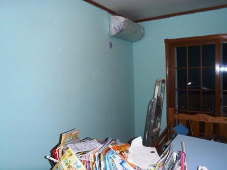 子供部屋の塗り直し