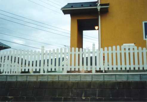 フェンス作り