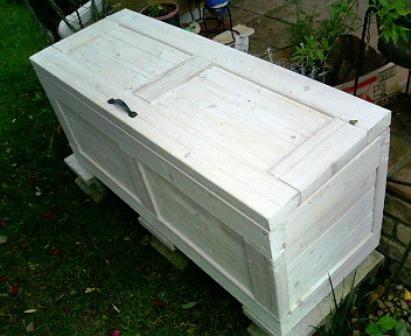 ガーデン用収納箱